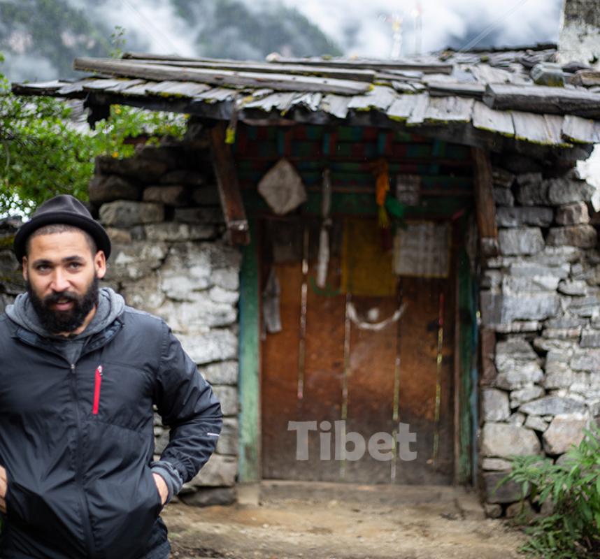 Julio in Tibet