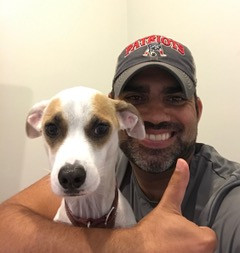 Rodrigo and his dog