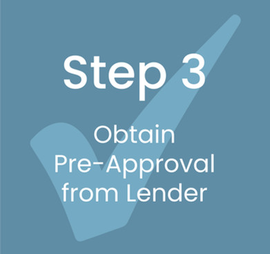 Step 3: Obtain Pre-Approval from Lender