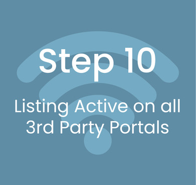 Step 10: Listing Active on All Third Party Platforms