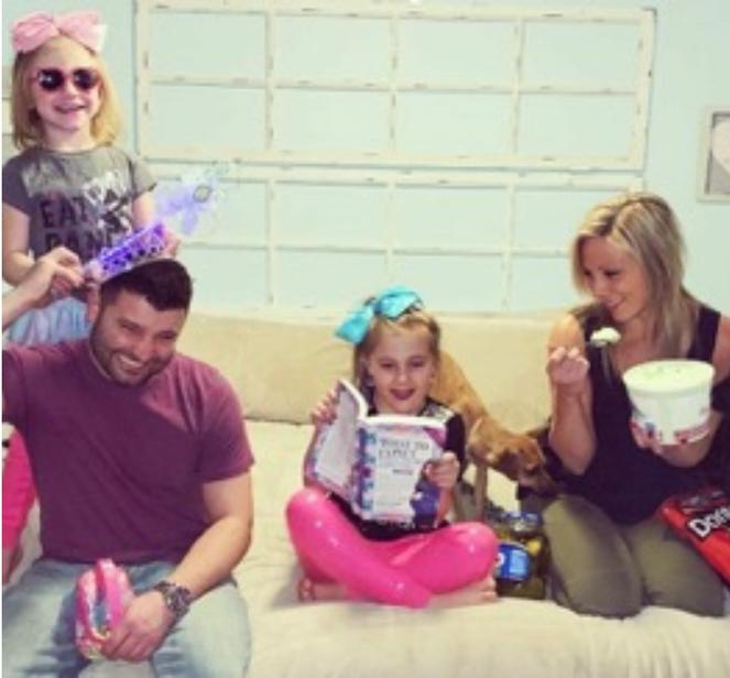 Patti's family/granddaughters