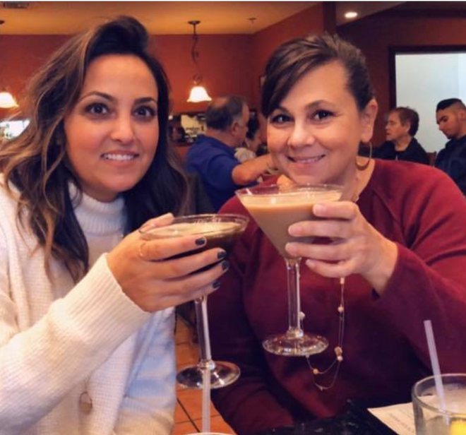Karen and her daughter