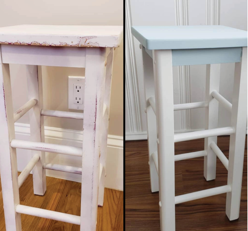 Karen's Furniture Restoration - Stools
