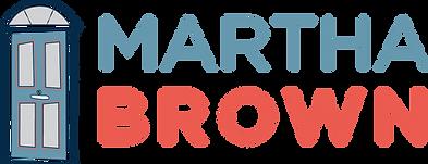 Martha Brown door logo