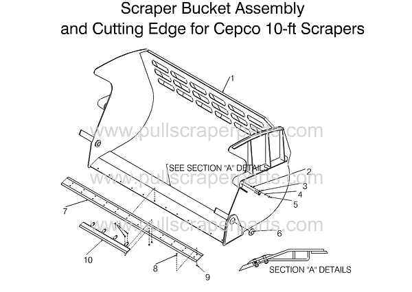 Scraper Bucket assembly cepco 10'.png