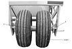IMC 8CFB Wheel Frame Assembly Rear Detai