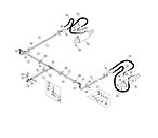 HYDRAULIC LINES, FRAME CYLINDER (1312C)