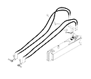 JD 1312C Hydraulic Lines Front & Rear Sc