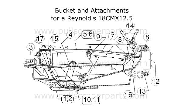 Reynolds Bucket & Attachments for Reynol