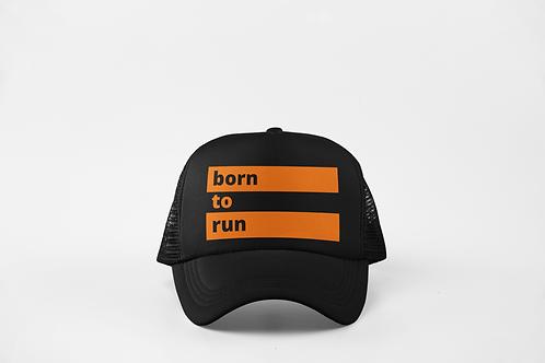 Born to Run - Black & Neon Orange
