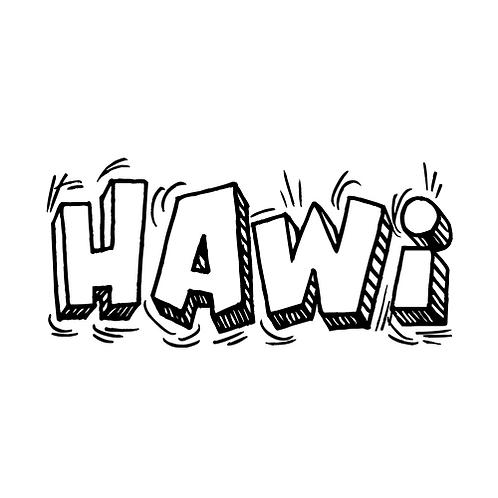 HAWI CARTOON