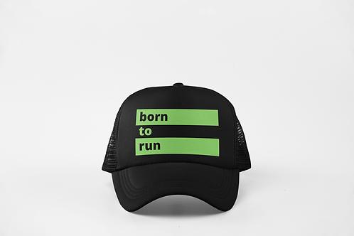 Born to Run - Black & Neon Green