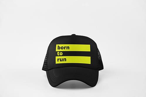 Born to Run - Black & Neon Yellow