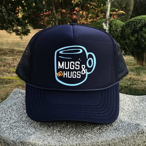 Mugs & No Hugs - Navy