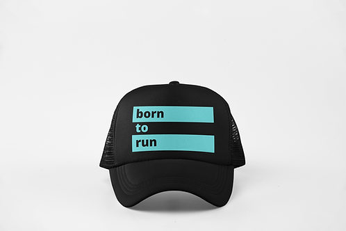 Born to Run - Black & Ocean Green