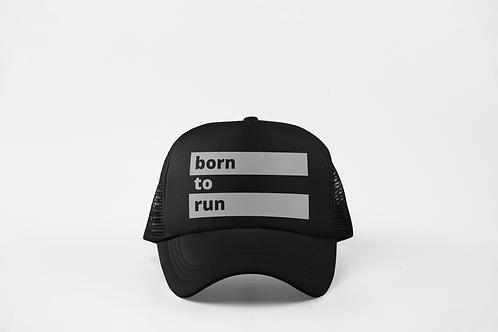 Born to Run - Black & Silver