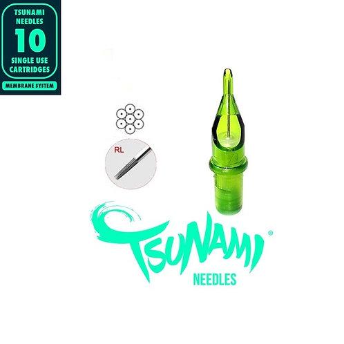 1RL Tsunami Needles Round Liner 10unid