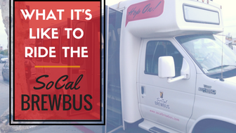 What is it Like to Ride on the SoCal Brew Bus?