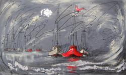 Le trio des mers acrylique 24x40 vendu.jpg