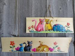 Petites toiles sur bois
