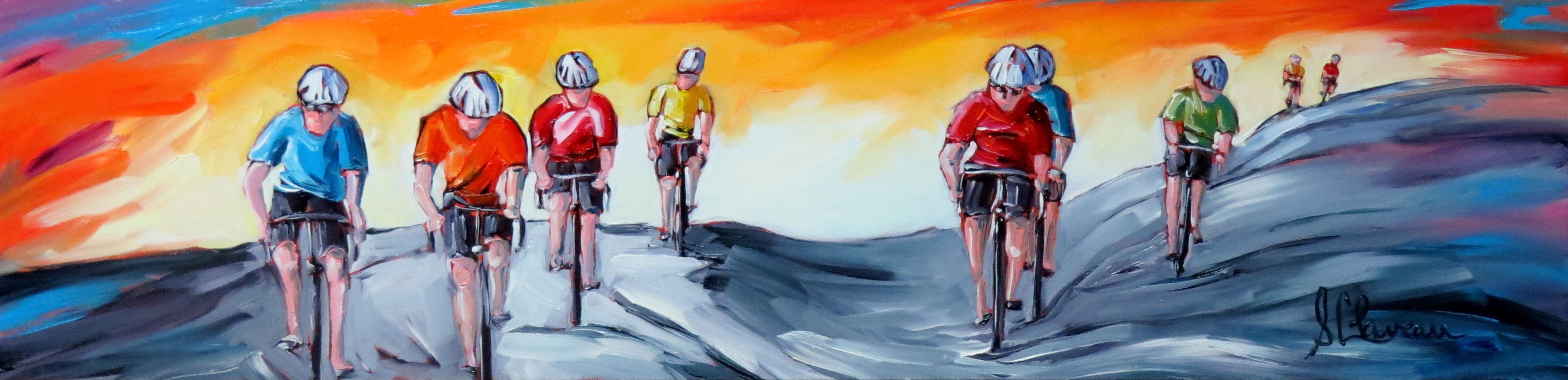 Les fous du vélo