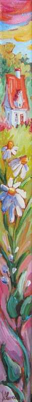 Marguerites en folie huile 24x2po   vendu.jpg