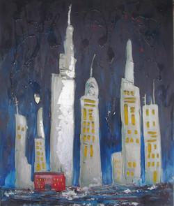 La nuit des temps modernes acrylique 48x40 vendu  Vendu.jpg