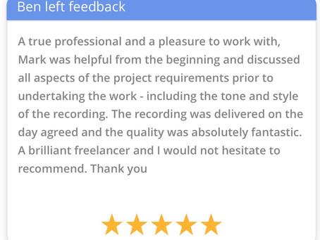 Feedback: Very happy client!