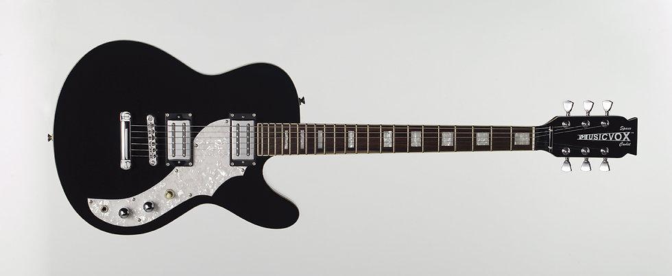 Midnight Black Space Cadet LT Guitar