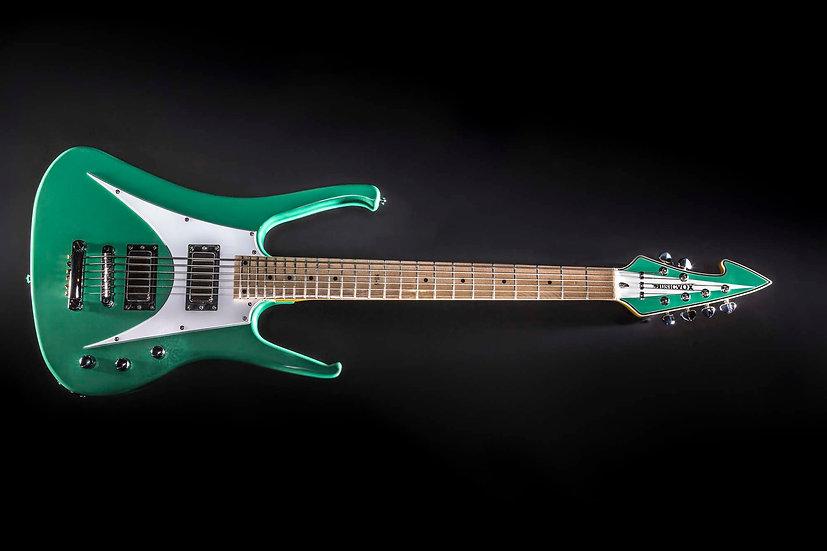 Seafoam Green MI-6 Custom 6 String Bass Guitar