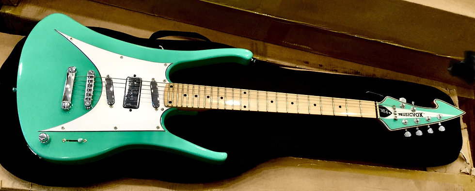 Seafoam Green MI-6 Limited Custom Guitar