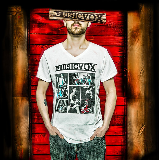 Musicvox Collage T-Shirt
