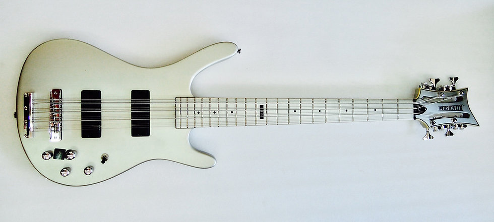 Silver Silk Reverse MI-5 12 String Bass