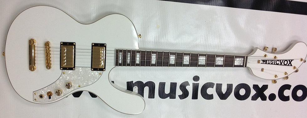 White Spaceranger Guitar