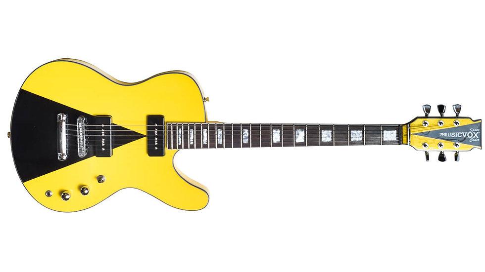 Taxi Cab Yellow Space Cadet Custom Guitar