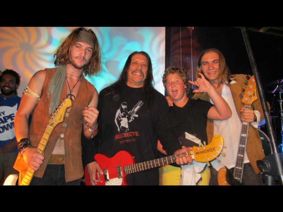 Samsom Band with Danny Trejo