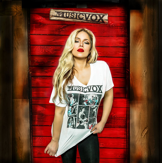 Musicvox Collage T-Shirt