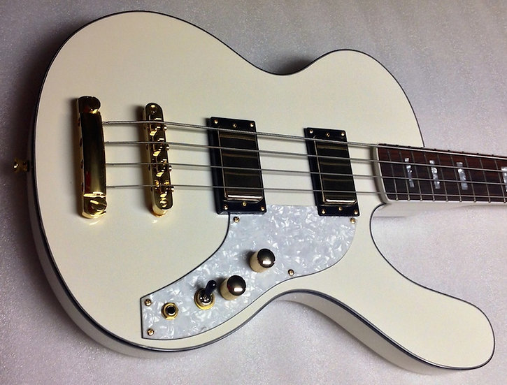 Limited White/Gold Hardware Spaceranger Bass