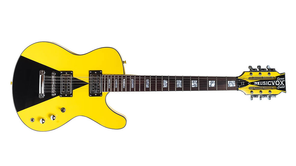Taxi Yellow Space Cadet 12 St Custom Guitar