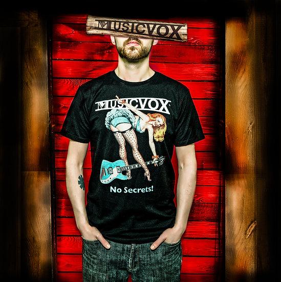 Musicvox No secrets T-Shirt