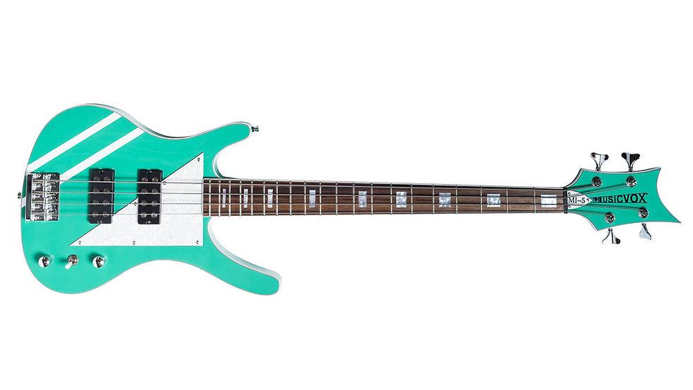 """Seafoam Green MI-5 34"""" Custom Bass"""