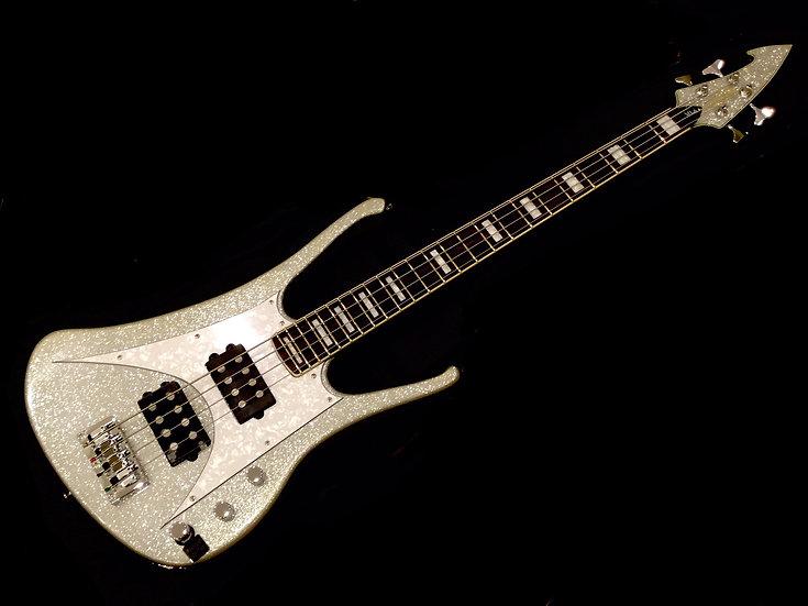 20th Anniversary MI-6 Bass Silver Sparkle
