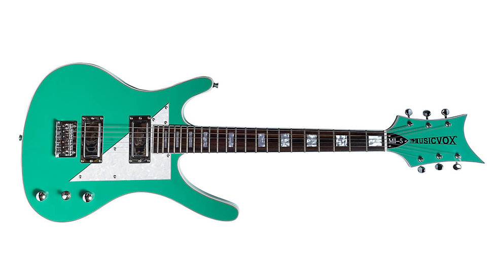 Seafoam Green MI-5 Guitar