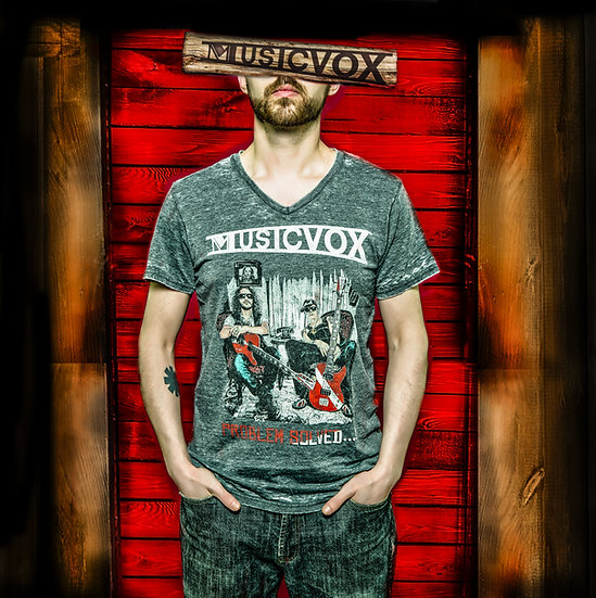 Musicvox Problem Solved T- Shirt
