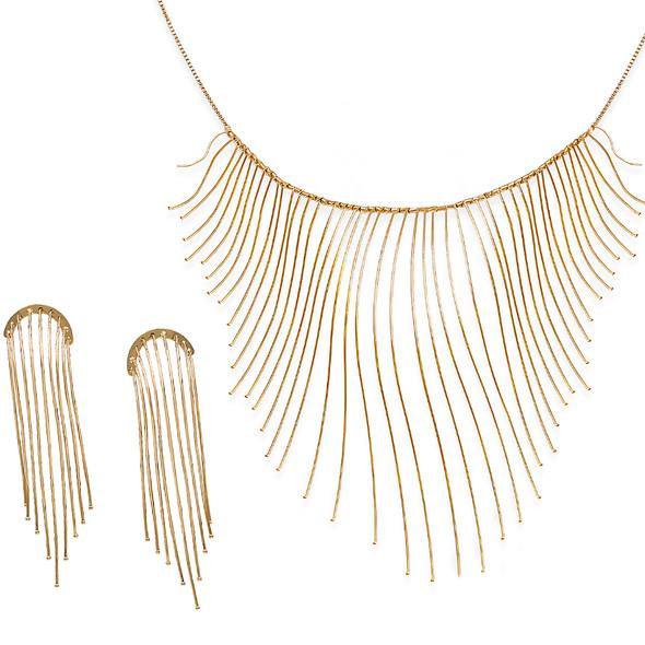 7600 earrings $14,25 / 3881 necklace $39,75