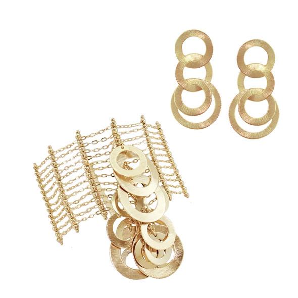 4292 bracelet $48,75 / 2765 earrings $17,25