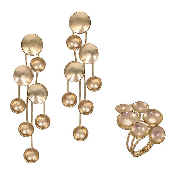 1355 ring $20,63 / 7565 earrings $17,81
