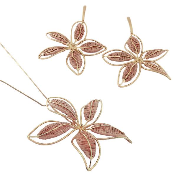 3482 necklace $37,50 / 2903 earrings $32,00