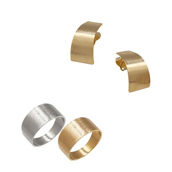 1586 ring $20,00 / 7725 earrings $8,12