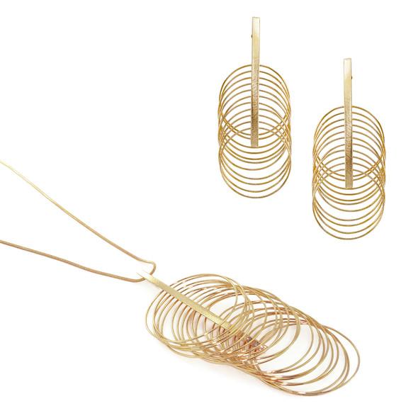 3437 necklace $34,50 / 2787 earrings $20,25